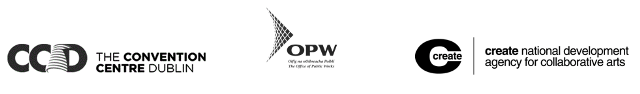 The Convention Centre, OPW and Create logos