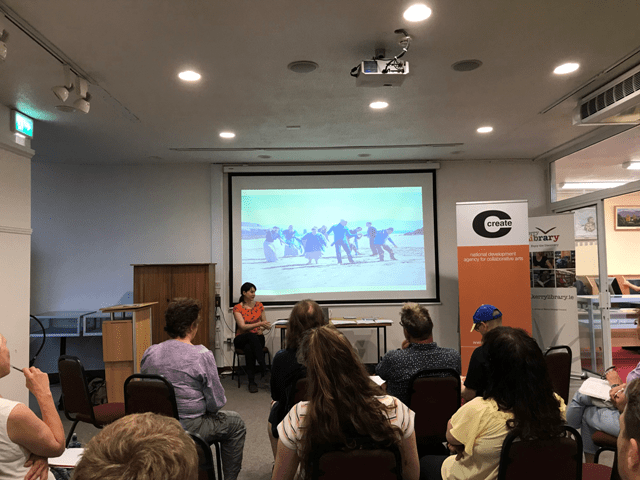 Artist in the Community Scheme Information Session, Co Wicklow
