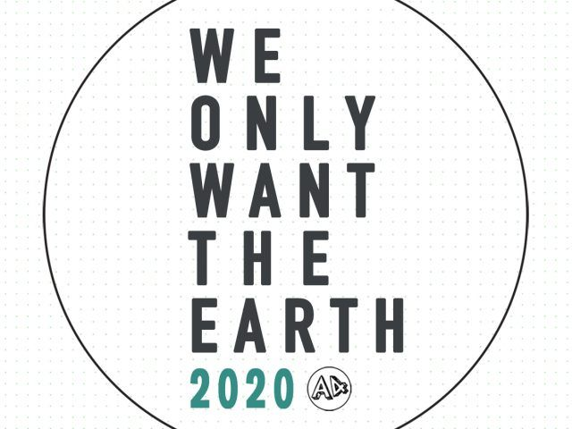 We Only Want The Earth