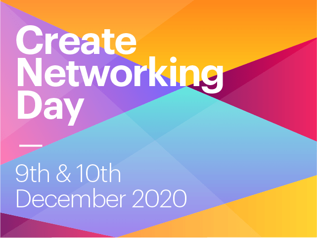 Create Networking Day 2020 goes Online