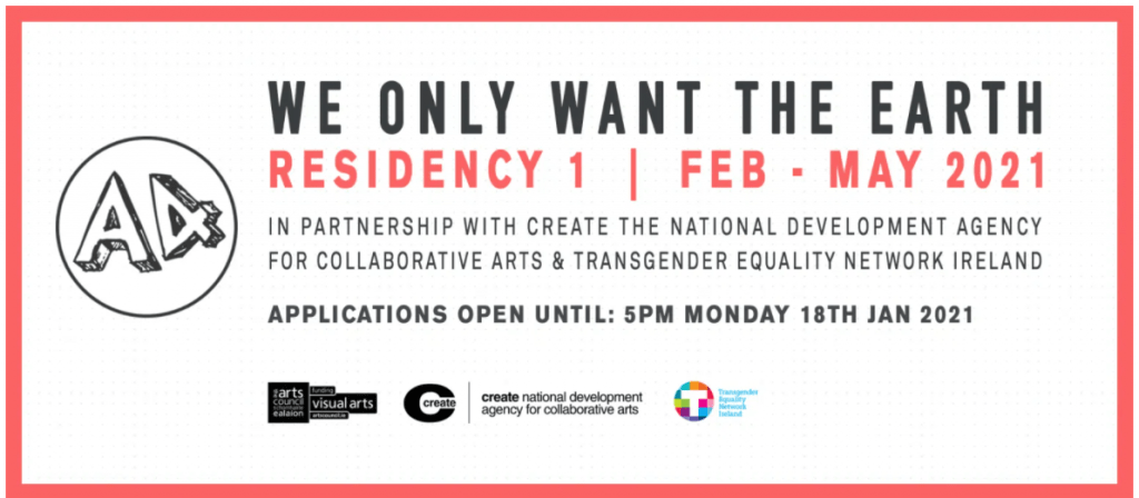 We Only Want The Earth: Residency 1 2021